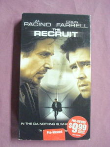 The Recruit VHS Al Pacino Colin Farrell CIA Adventure