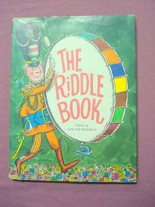 The Riddle Book 1967 Children's HC Oscar Weigle