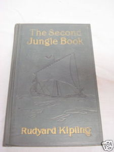 The Second Jungle Book 1927 HC Kipling