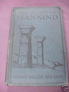 The Story of Mankind 1928 HC Hendrick Willem Van Loon