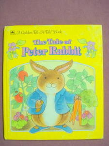 The Tale Of Peter Rabbit A Golden Tell-A-Tale Book 1993