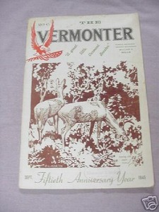 The Vermonter Magazine Sept. 1945