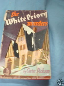 The White Priory Murders 1942 Paperback Carter Dickson