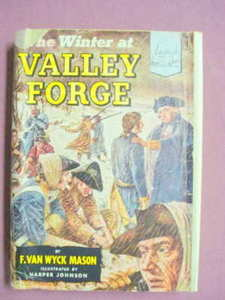 The Winter At Valley Forge Landmark Books #33 HC 1953