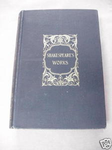 The Works of William Shakespeare HC circa early 1900's