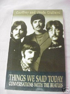 Things We Said Today Conversations With the Beatles SC