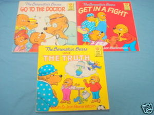 Three The Berenstain Bears 1980's First Time Books