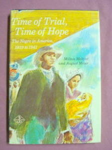 Time of Trial Time of Hope HC Negro In America 1919-41