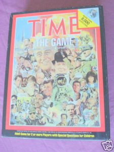 Time The Game 1983 John N. Hanson Co. Complete