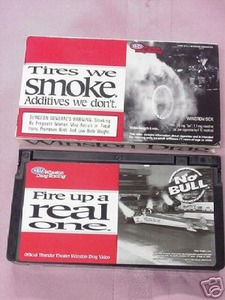 Tires We Smoke 1997 NHRA Winston Drag Racing VHS Tape