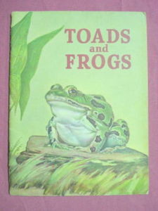 Toads and Frogs 1952 PB Basic Science Education Series