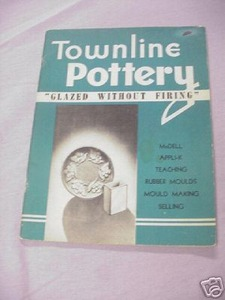 Townline Pottery 1949 SC Maxwell H. Fellows