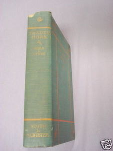 Trader Horn 1927 Africa HC Alfred Aloysius Horn