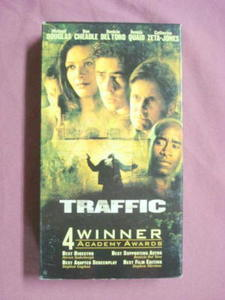 Traffic VHS Michael Douglas Catherine Zeta-Jones