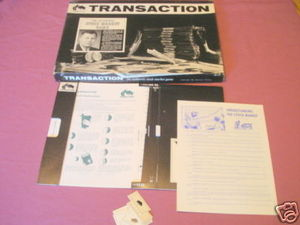 Transaction The Authentic Stock Market Game 1962