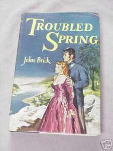 Troubled Spring 1950 Post Civil War HC John Brick
