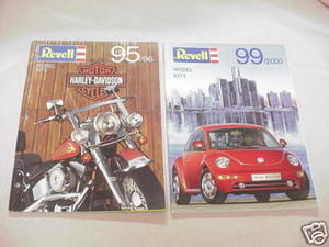 Two Revell of Germany Catalogs 1995/1996 & 1999/2000