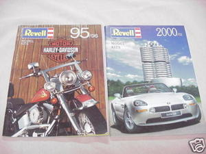 Two Revell of Germany Catalogs 1995/1996 & 2000/2001