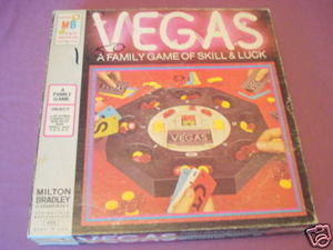 Vegas 1973 Milton Bradley Game of Skill & Luck