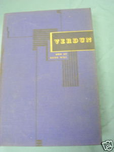 Verdun by Jules Romains 1939 World War I Hardcover