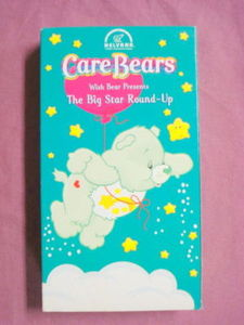 VHS Care Bears Wish Bear Presents The Big Star Round-Up