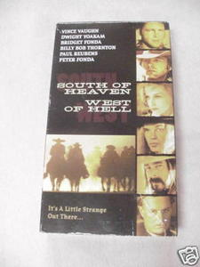 VHS South of Heaven West of Hell Bridget Fonda