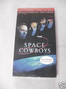 Space Cowboys VHS Clint Eastwood Tommy Lee Jones