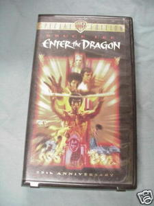 VHS Special Edition Enter the Dragon Starring Bruce Lee