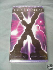 VHS X-Files Pilot & Deep Throat New Sealed