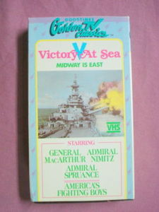 Victory At Sea VHS Tape
