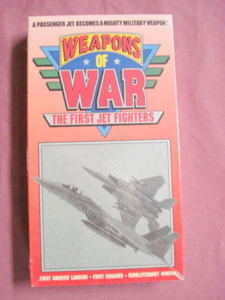 Weapons of War-VHS-Sealed-The First Jet Fighters