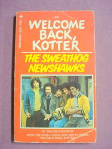 Welcome Back, Kotter #2 Sweathog Newshawks 1976 PB