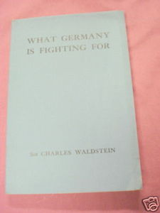 What Germany is Fighting For 1917 WWI Softcover Book