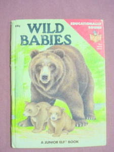 Wild Babies Start-Right Junior Elf Book 1988