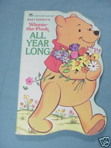 Winnie the Pooh All Year Long Golden Sturdy Shape Book