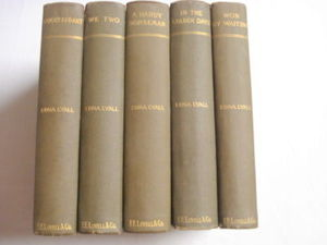Five 1890's HCs by Edna Lyall We Too, Knight-Errant +