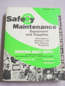 1984 Industrial Safety Supply Catalog, West Hartford Ct