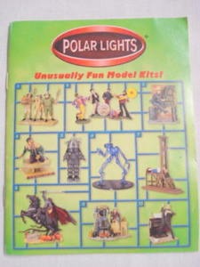 2000 Polar Lights Mini Model Catalog Lost In Space