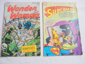 1977 Pizza Hut Reprints Wonder Woman #60 Superman #113