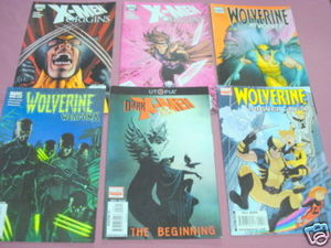 X-Men Origins #1, Wolverine Revolver #1, Weapon X #3