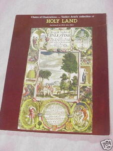 Yaakov Aviel's Collection of Holy Land Auction Catalog