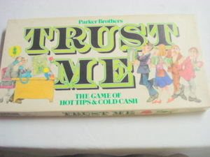 Trust Me Game Parker Brothers 1981 Complete