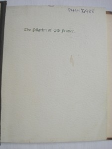 1894 Poetry Book The Pilgrim of Old France, The Huguenots on the Hudson 1613-14